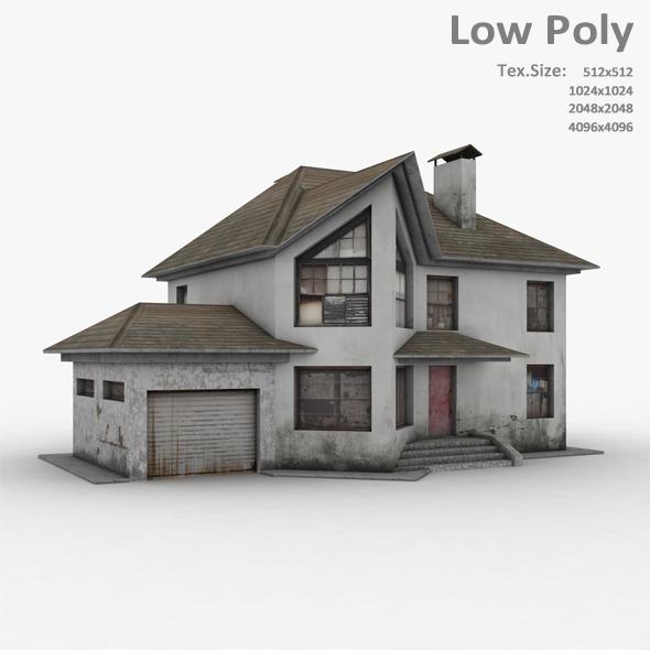 Building 029 - 3DOcean Item for Sale