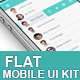 Business Flat Mobile UI Kit