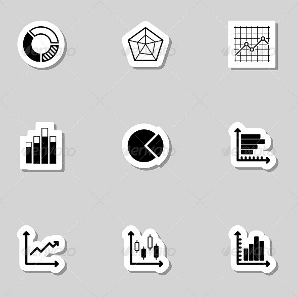 GraphicRiver Diagram Icons Set as Labels 7193530
