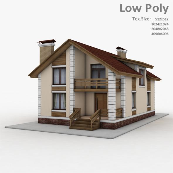 Building 031 - 3DOcean Item for Sale