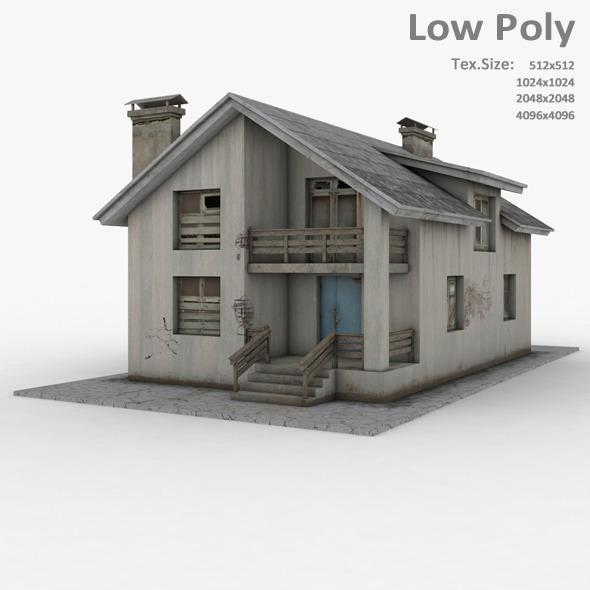 Building 032 - 3DOcean Item for Sale