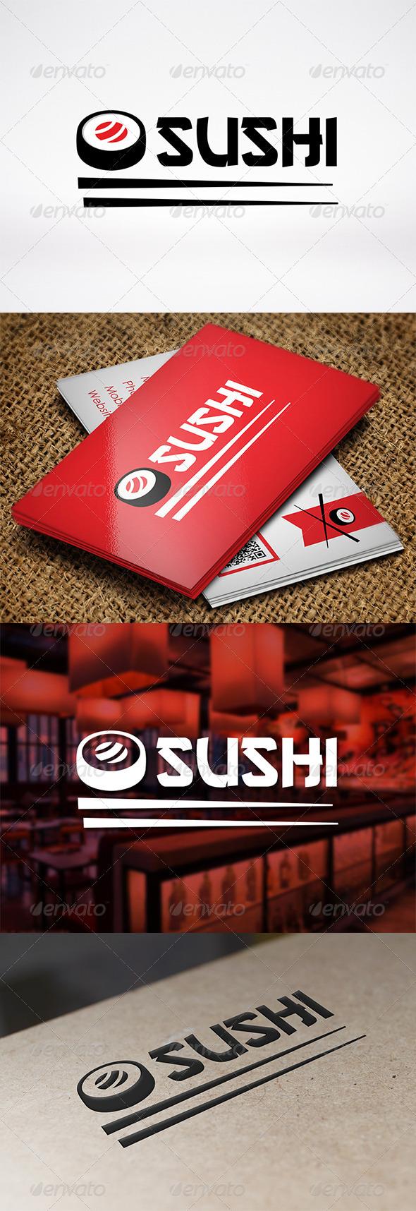 GraphicRiver Sushi Logo Template 7193771