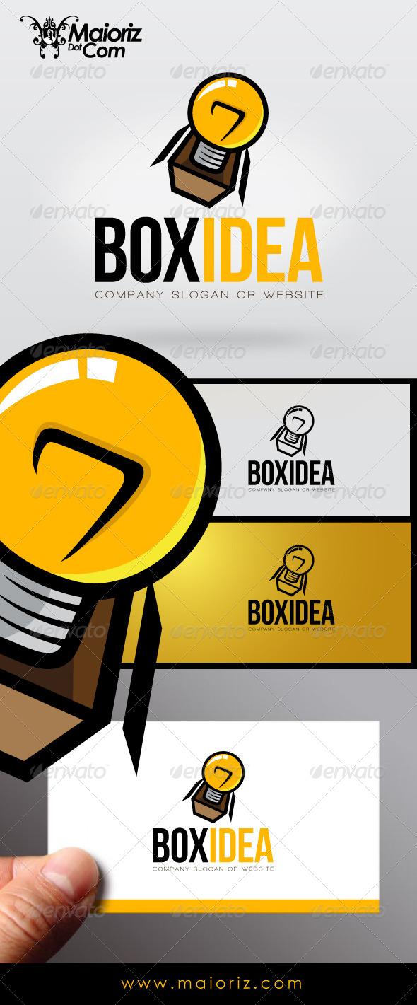GraphicRiver Box Idea Logo 7193834