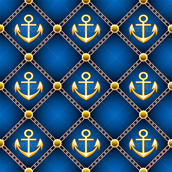 GraphicRiver Seamless Anchor Pattern 7193841
