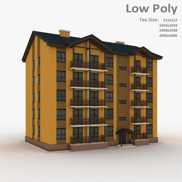 Building 034 - 3DOcean Item for Sale