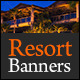 Banners for Vacation Resorts - GraphicRiver Item for Sale