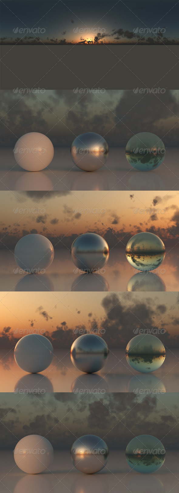 SC-Skydomes 002-SunSet - 3DOcean Item for Sale