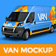 Van Mockup - GraphicRiver Item for Sale