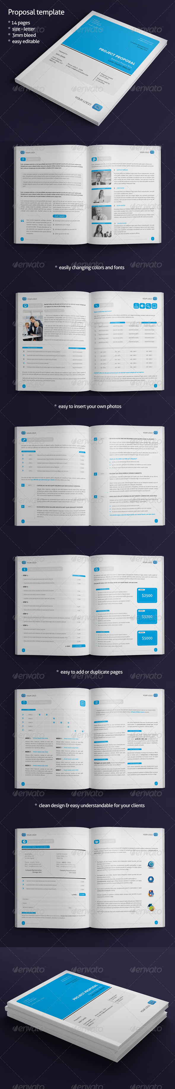 GraphicRiver Proposal Template 7195235