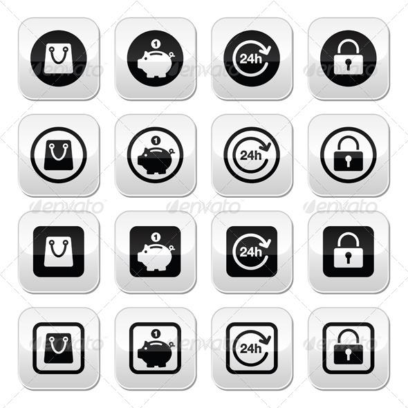 GraphicRiver Shopping Button 7196004