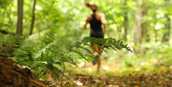 Nature Female Forest Runner 2