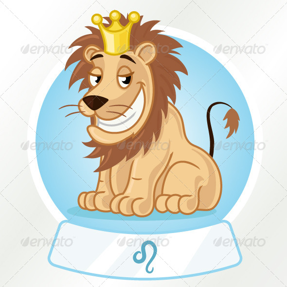 GraphicRiver Leo Horoscope Sign 7198244
