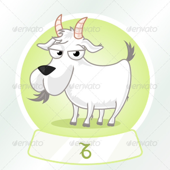 GraphicRiver Capricorn Horoscope Sign 7198247