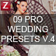 9 Pro Wedding Presets vol.6
