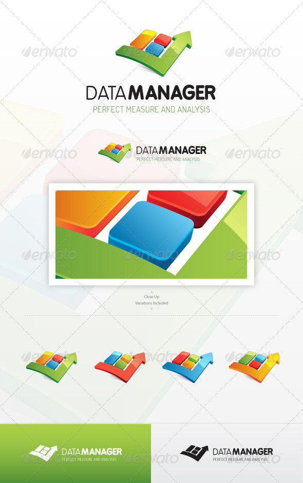 GraphicRiver Data Manager Logo 7198527