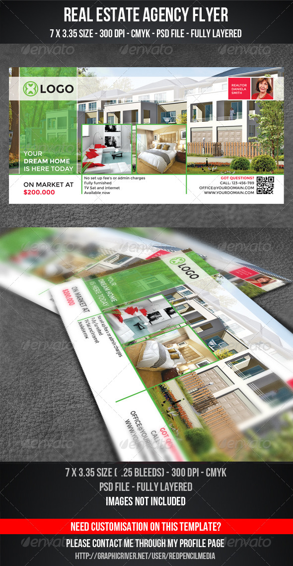 GraphicRiver Real Estate Flyer Magazine AD 7198809