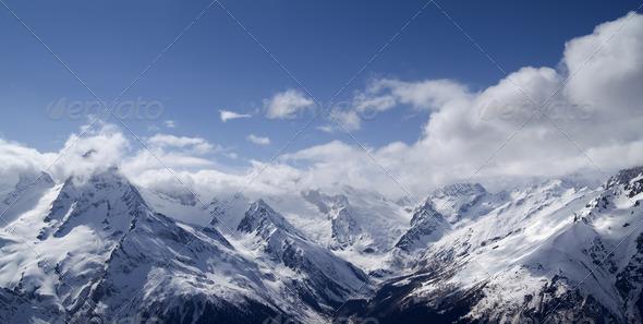 PhotoDune Panorama Mountains 772431