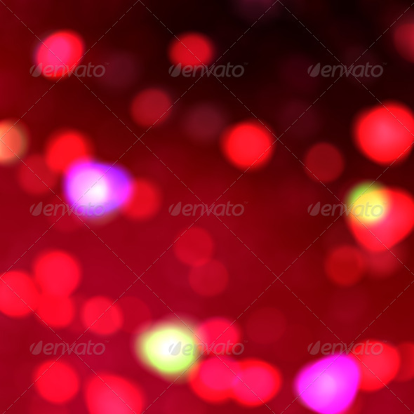 Red lights background - Stock Photo - Images