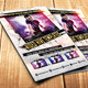 Video Stage Party Flayer - GraphicRiver Item for Sale