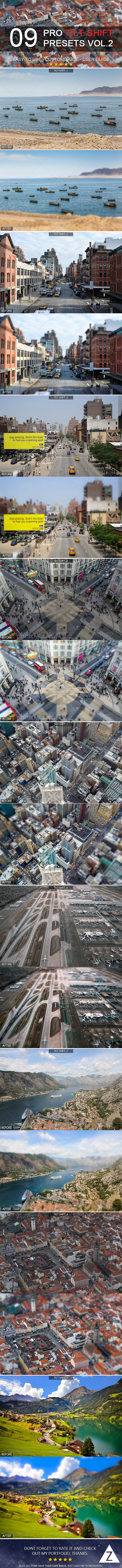 GraphicRiver 9 Pro Tilt-Shift Presets 7199829
