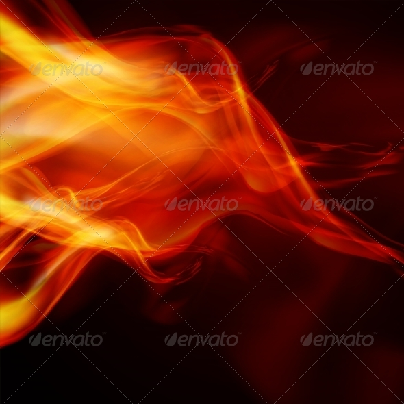 GraphicRiver Abstract Fire Flames 7199957