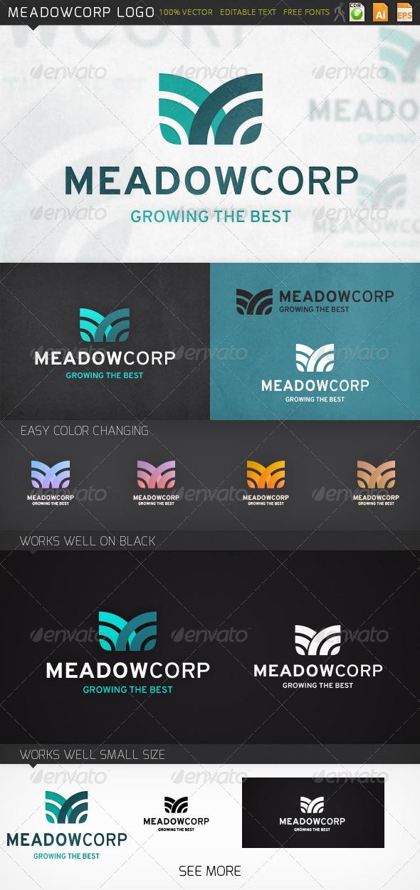 GraphicRiver Meadowcorp Logo 7199966