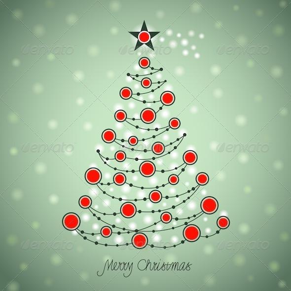 GraphicRiver Christmas Tree 754742
