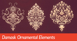 Damask Ornamental Elements