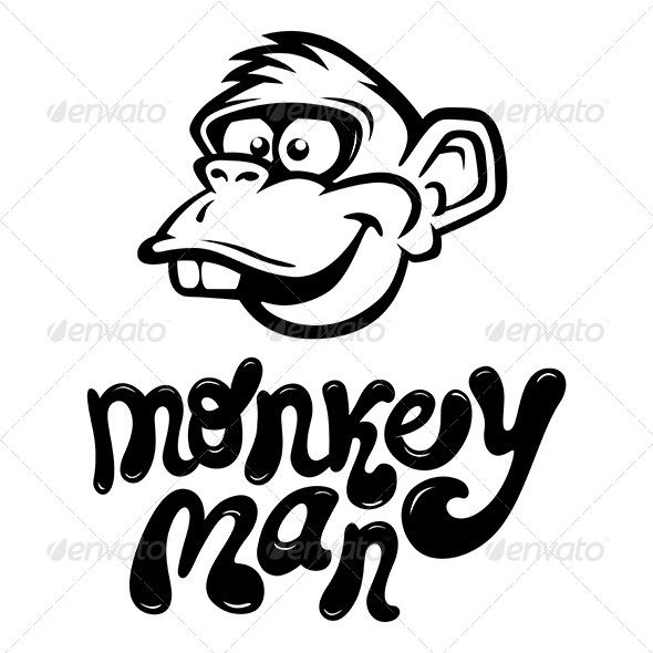 GraphicRiver Cartoon Monkey 7200999