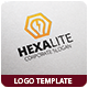 Hexa Lite Logo Template - GraphicRiver Item for Sale