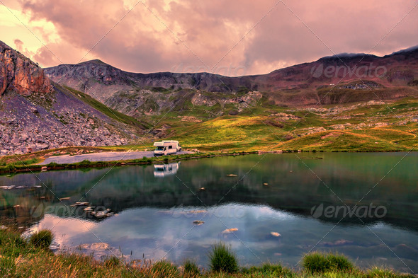 Lac de Essaupres - Stock Photo - Images