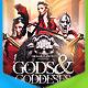 Gods And Goddesses Flyer - GraphicRiver Item for Sale