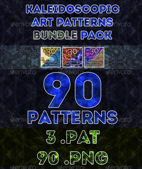 GraphicRiver Kaleidoscopic Art Patterns Bundle Pack 7194743