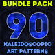 Kaleidoscopic Art Patterns Bundle Pack - GraphicRiver Item for Sale