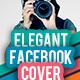 Elegant facebook Cover - GraphicRiver Item for Sale