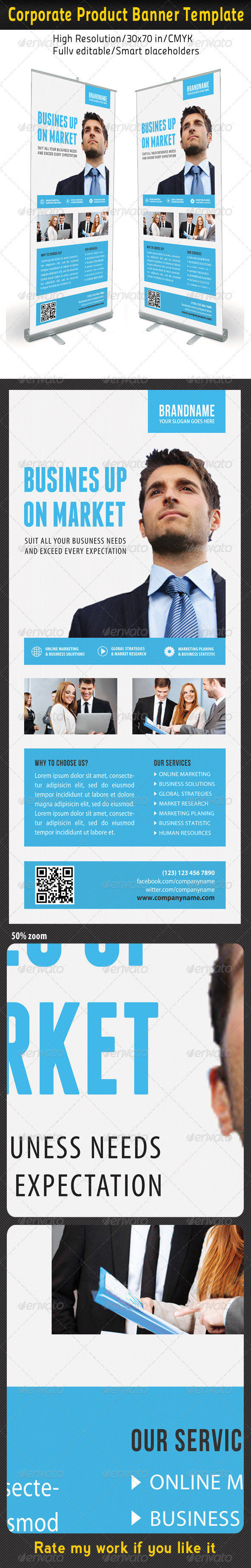 Corporate Multipurpose Banner Template 56