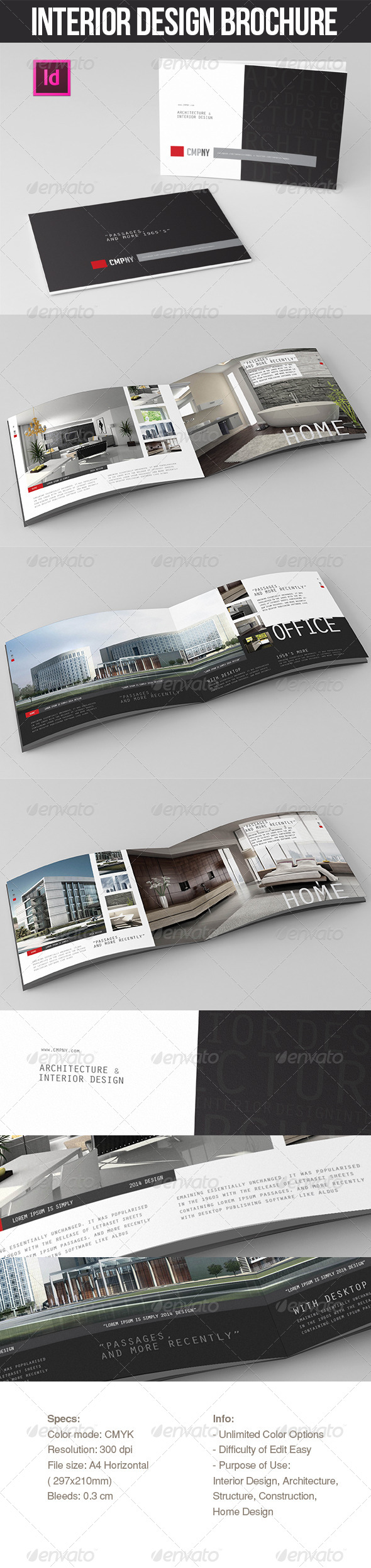 GraphicRiver INTERIOR DESIGN BROCHURE YMC DESIGN 7174312
