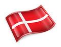 Danish Flag icon.