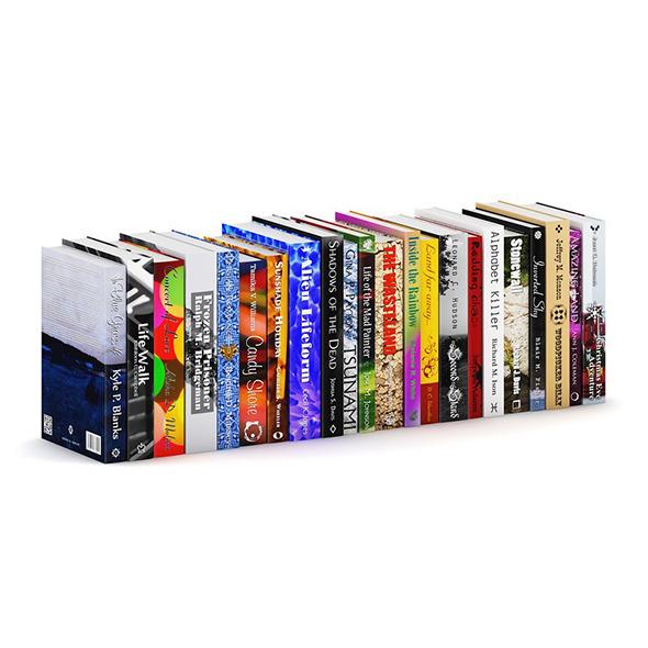 3DOcean Novel Books 3 7204522