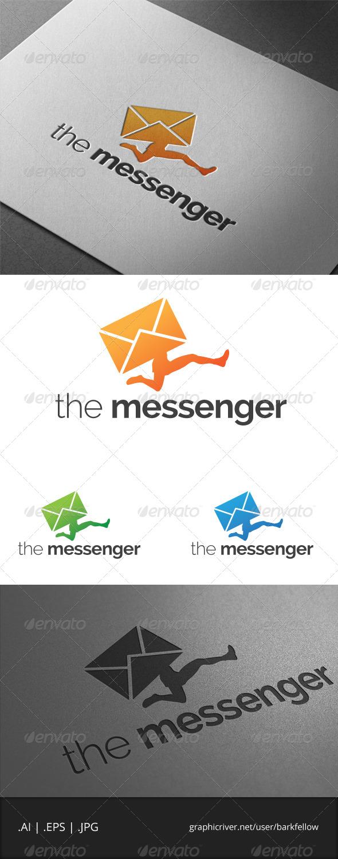 GraphicRiver The Messenger Logo 6893170