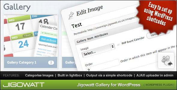 CodeCanyon Jigowatt Gallery for WordPress 139342
