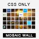 Social Mosaic Wall