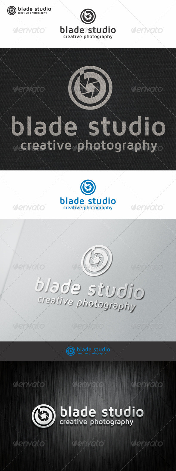 Blade Photo Studio Logo B - Symbols Logo Templates