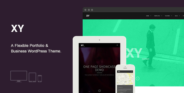 XY - Premium WordPress Theme - Business Corporate