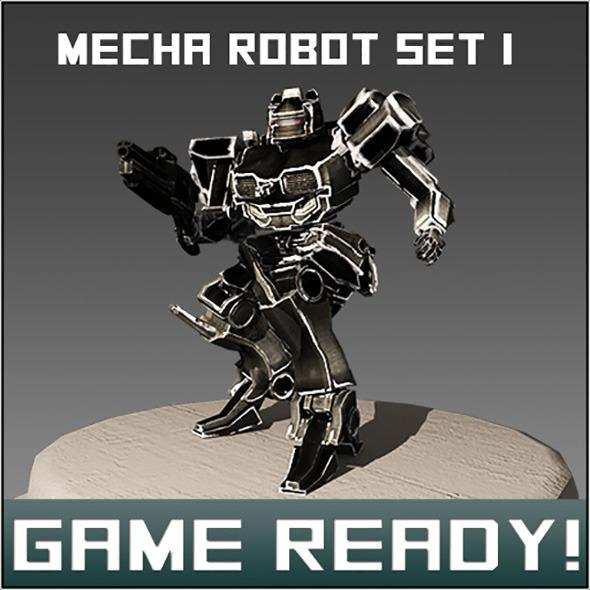 3DOcean Mech Set #1 7209073