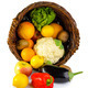 Basket full of fruits and vegetables - PhotoDune Item for Sale