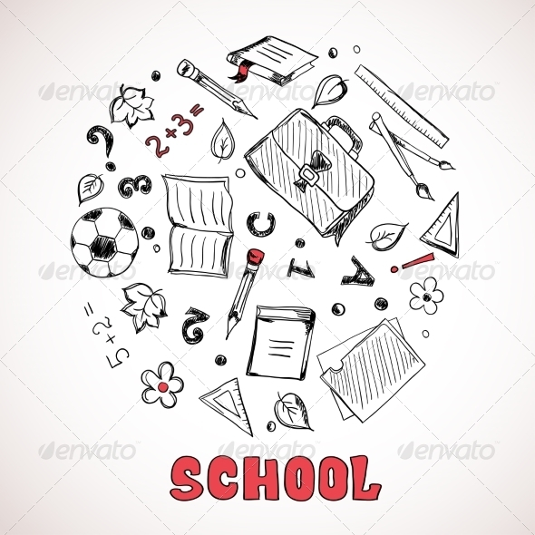 Sketch of School Elements