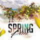 Spring Break Flyer Template Vol. 2 - GraphicRiver Item for Sale