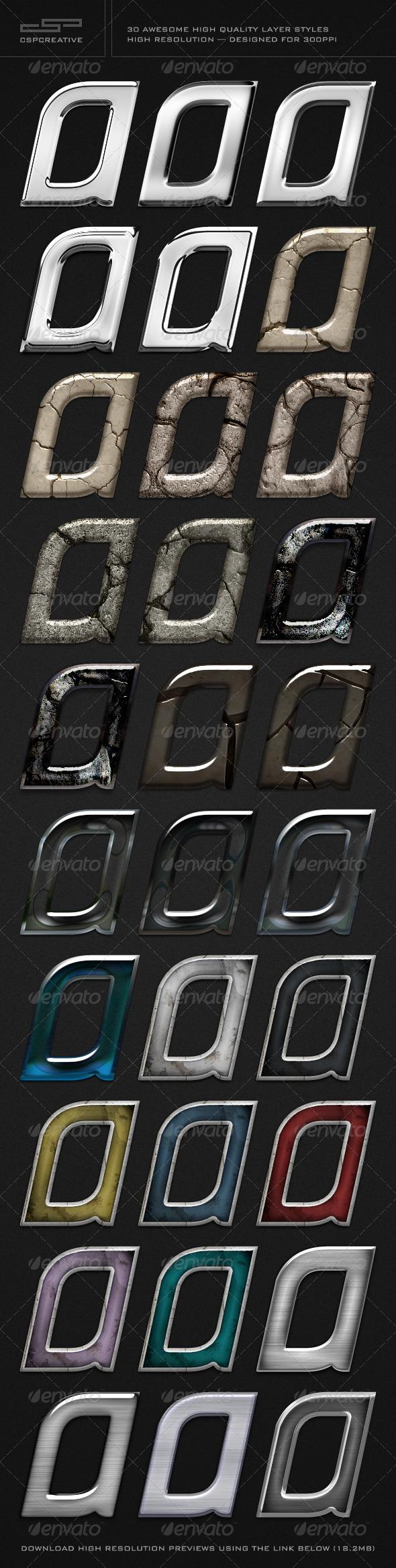 GraphicRiver CSP Creative Styles Bundle 1 676396
