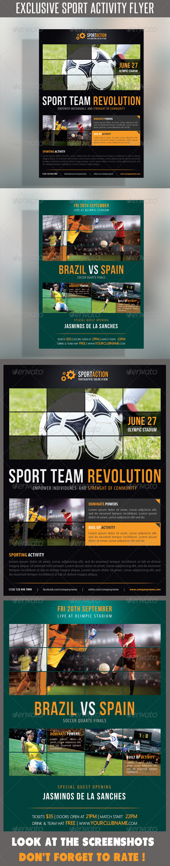 Sport Multipurpose Flyer 15